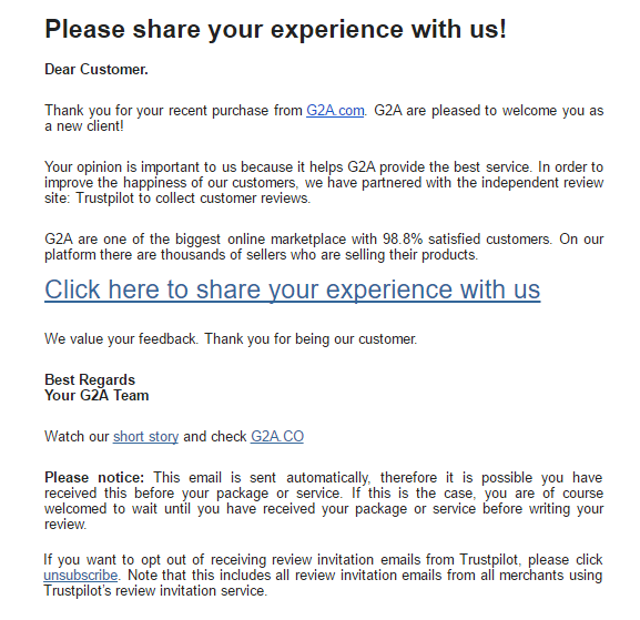 user experience optimization emails
