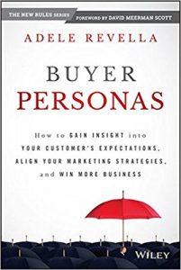 marketing book buyer personas