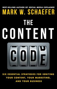 marketing book the content code