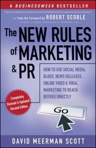 marketing book new rules of marketing