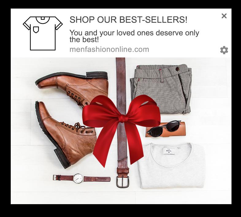 best seller web push notification
