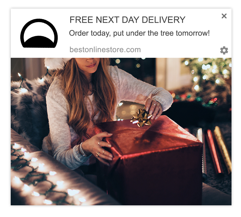 delivery web push