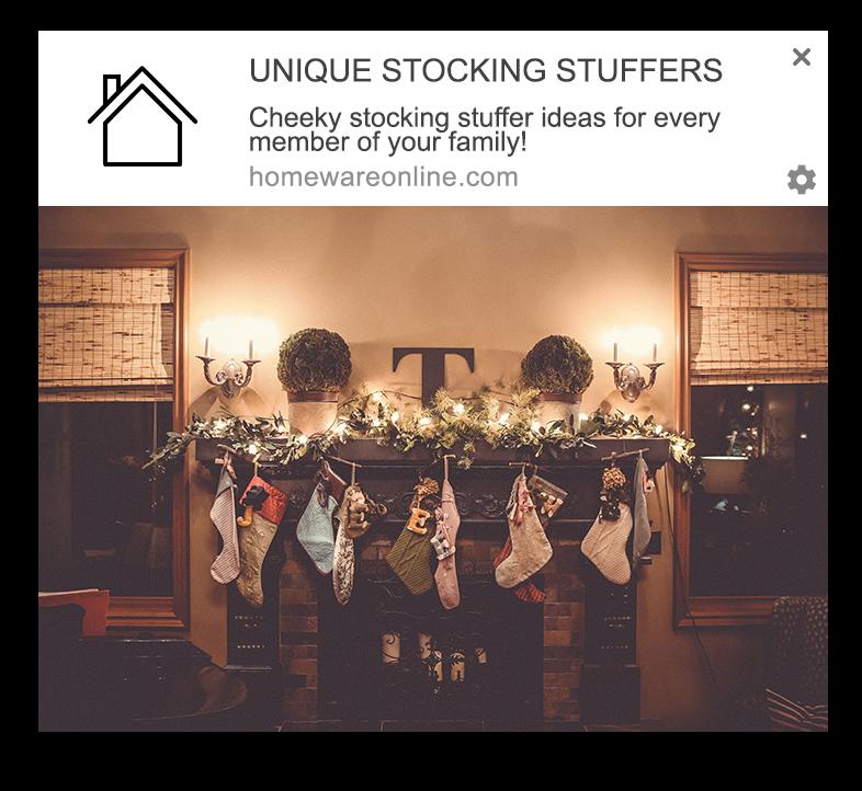 stocking stuffers web push